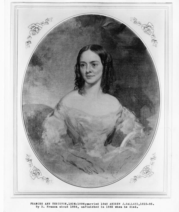 Portrait of Fanny Thruston