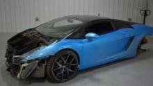 Stolen Lamborghini 1