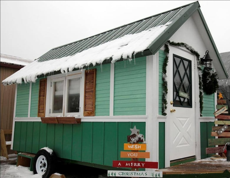 tiny houses for homeless. Occupy Madison Has Built A Village Of Units That Are About 99 Square Feet. (Occupy Madison). The Tiny House Houses For Homeless