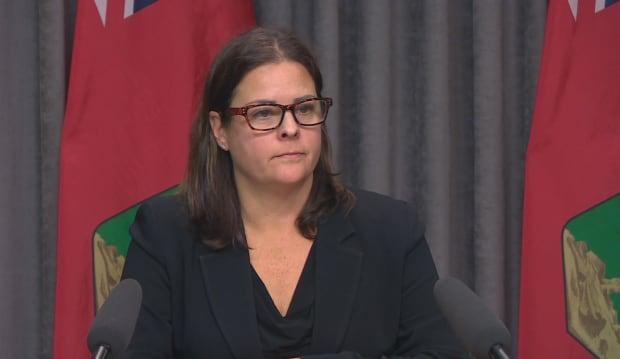 Justice Minister Heather Stefanson