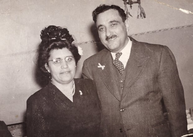 Edward and Donna Pasquale, February 1945