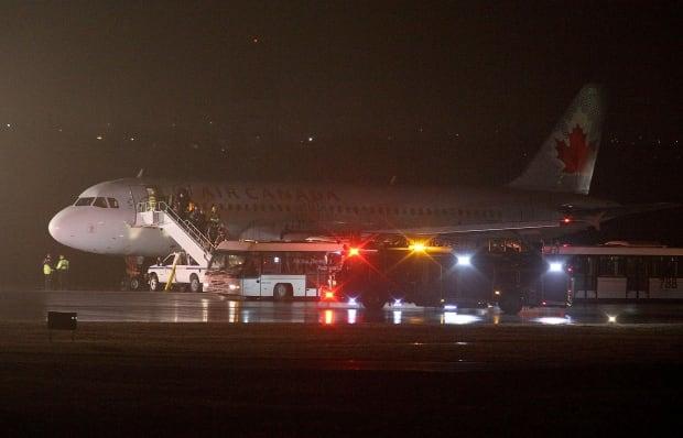 Air Canada 623 flight from Halifax
