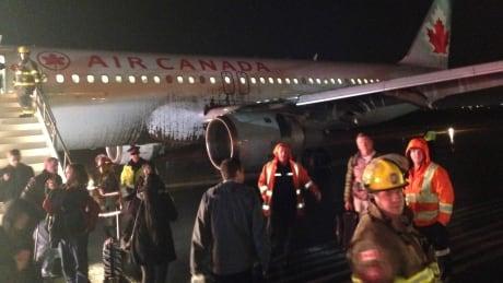 Air Canada rough landing