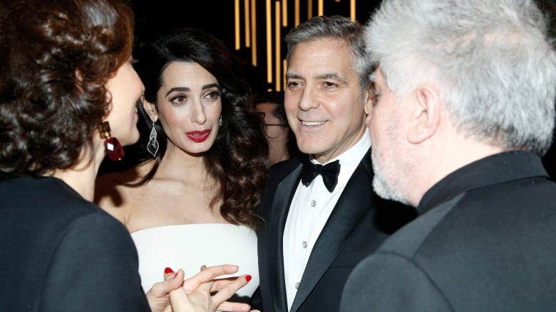 George And Amal Clooney Welcome Twins Cbc News