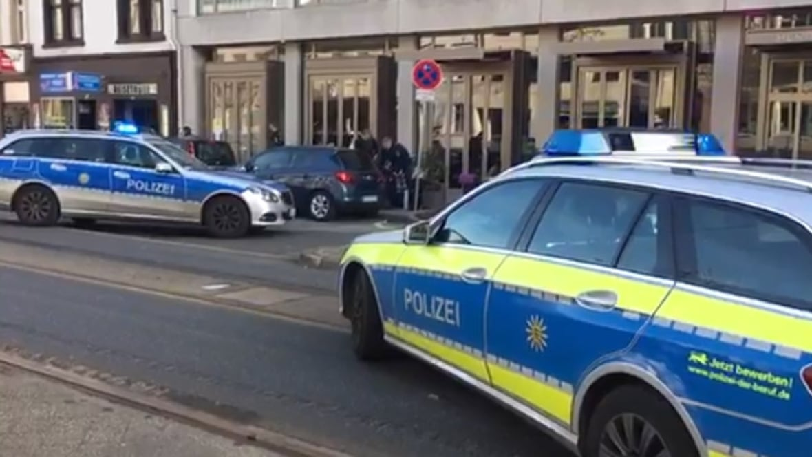 Man hits 3 with car in Heidelberg, Germany
