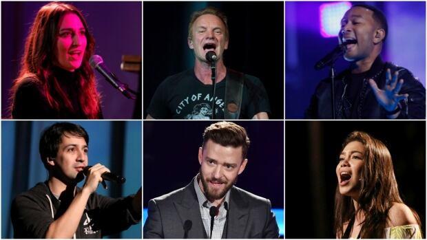 Oscar 2017 performers