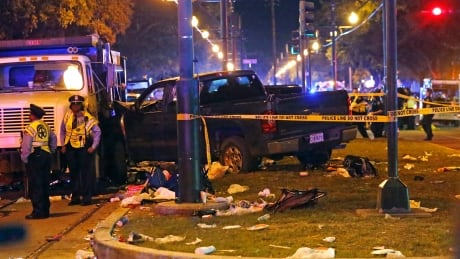 21 hospitalized after car plows into Mardi Gras crowd, New Orleans police say