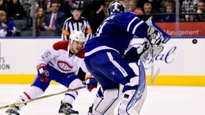 Habs claim 14th straight victory over Leafs with Shaw's OT winner