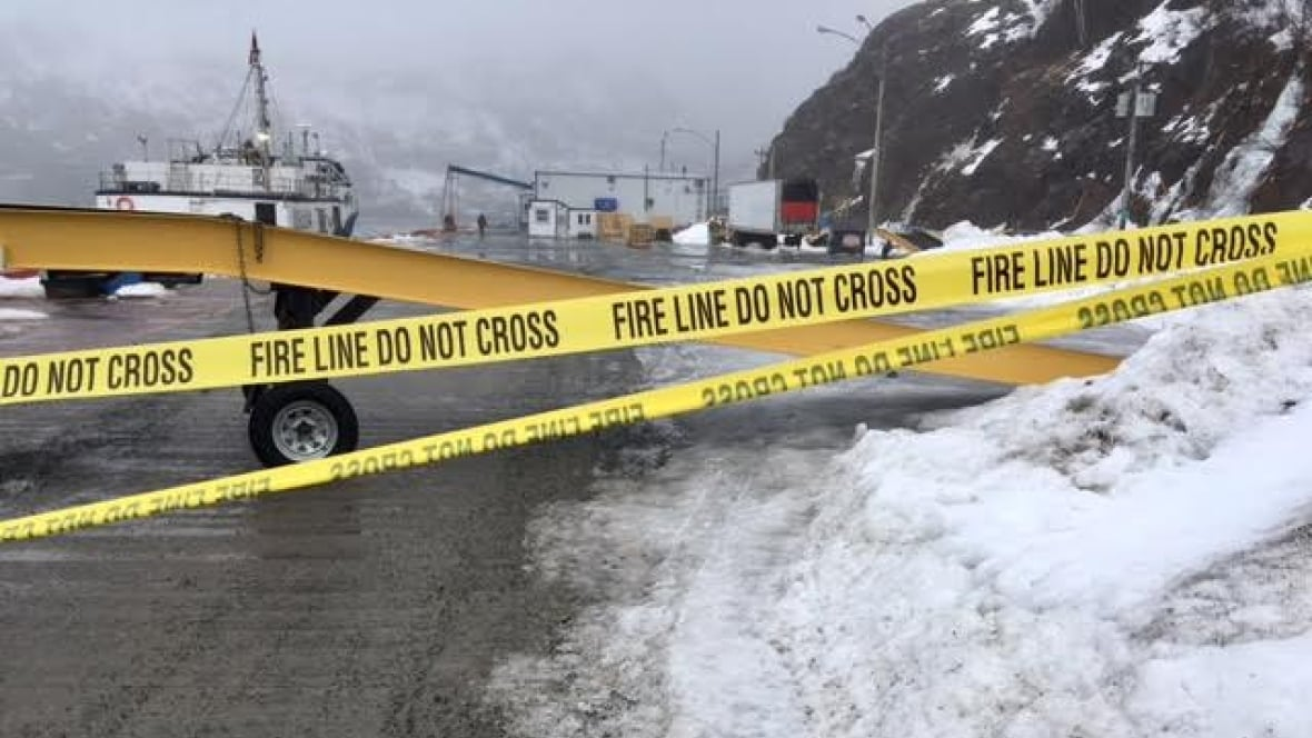 Hazmat response teams remove outdated chlorine cylinders in St. John's