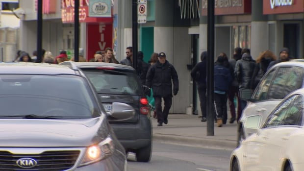 City planners are taking advantage of a water main repair to create a more pedestrian friendly environment on Yonge street