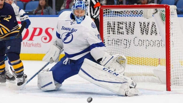 f64d36691e7 Goalie Ben Bishop is on the move to the Los Angeles Kings. (Jeffrey T.  Barnes Associated Press)