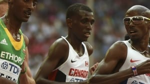 Mo Ahmed sets new Canadian indoor record in 5,000