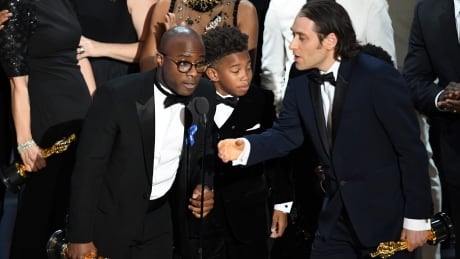 Moonlight wins best picture over La La Land in stunning Oscars finish
