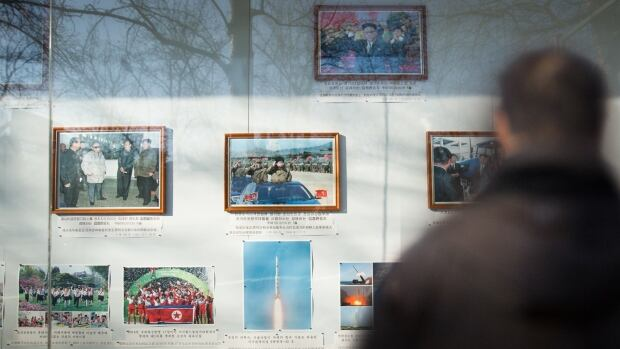 At North Korea's embassy in Beijing, photos of missiles are proudly displayed in a glass case for all to see. The country's nuclear- and chemical-weapons activities have led to a ban on coal imports into China — an expensive sanction.