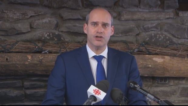 Quebec MP Guy Caron told a news conference in Gatineau, Que., on Monday that he is joining the NDP leadership race.