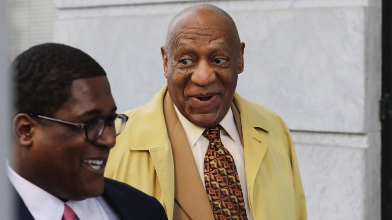 Comedian Bill Cosby arrives for a pre-trial hearing at the Montgomery  County Courthouse in Norristown, Penn., on Feb. 27. (Domonick  Reuter/AFP/Getty Images)