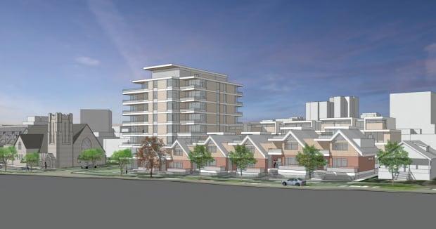 Proposed plans Dunbar Ryerson Church