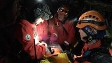 Hiker rescued in Comox