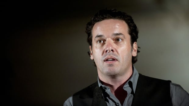 Canadian author Joseph Boyden is shown on Sept. 24, 2010. Boyden warns writers to be 'very careful' when 'you're going onto somebody else's turf.'