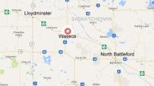 Wasceca, Sask., map