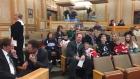 Saskatoon hockey players at city meeting on arena funding