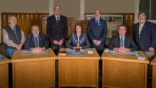 Lunenburg's council poses in this undated photo.
