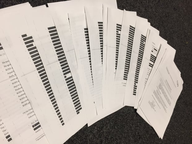 Redacted copies of Wettlaufer warrants