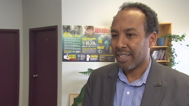 Abdi Ahmed, is an organizer in the Somali community in Winnipeg
