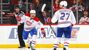 Galchenyuk seals Canadiens' OT comeback in New Jersey