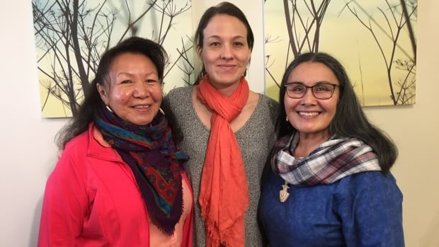 Be'sha Blondin, Nicole Redvers and Rassi Nashalik are part of the Arctic Indigenous Wellness Foundation, which is committing to build an Indigenous wellness centre in Yellowknife.