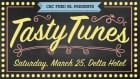 Tasty Tunes Saturday March 25