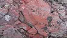 Oldest rock Quebec hemitite