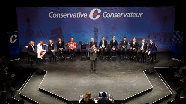 With the exception of Kevin O'Leary, all the Conservative leadership candidates participated in Edmonton's debate on Tuesday.