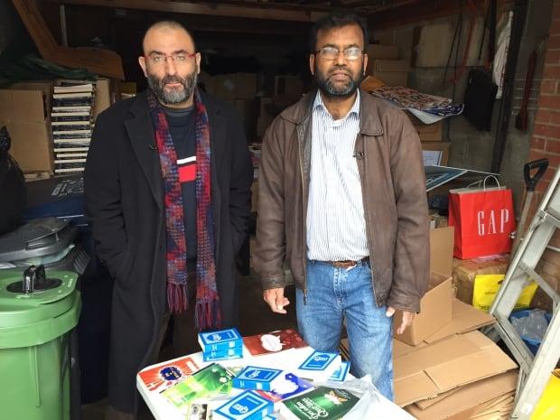 Quazi Islam (right) and Gerges Hamad (left)