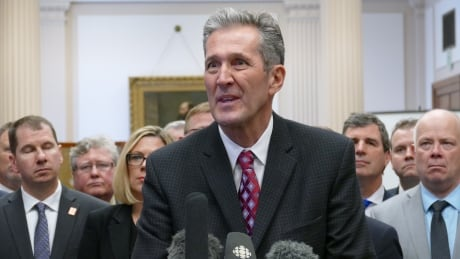 Brian Pallister and PC caucus