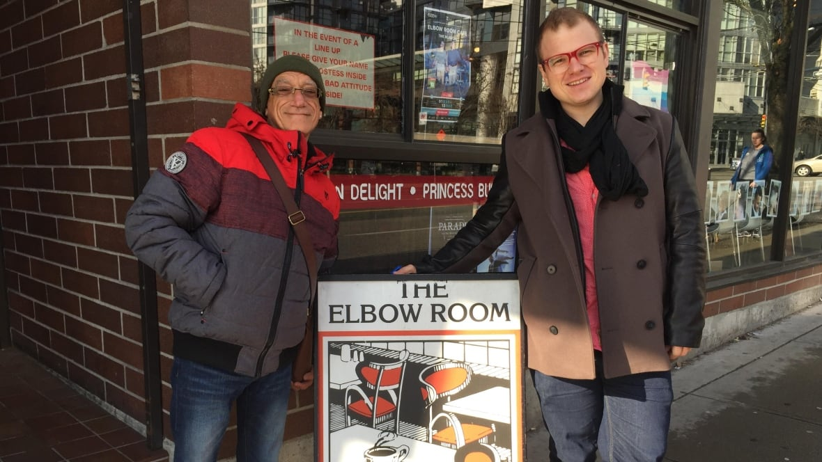 The Elbow Room Menu Calgary