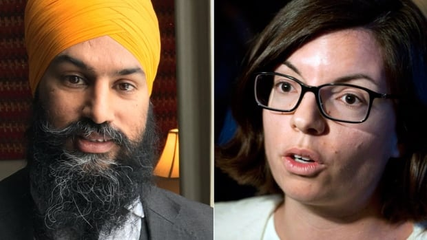 Jagmeet Singh and Niki Ashton