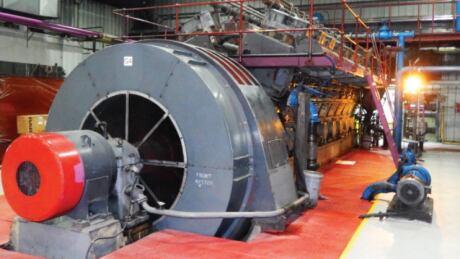 generator at Jackfish plant