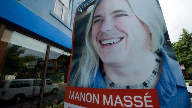 Manon Massé's riding won't be eliminated.
