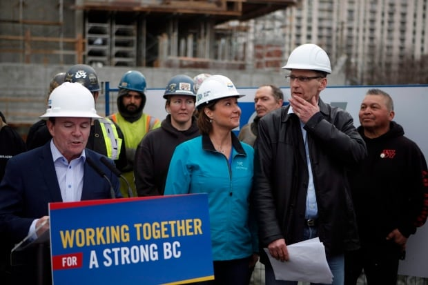 Christy Clark Iron Workers 20170301