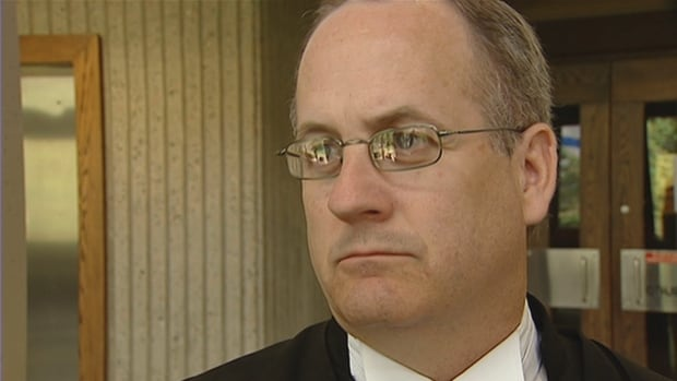 Judge Greg Lenehan is pictured in 2009 when he was Crown attorney. Complaints against him have been coming in since his decision on Wednesday to acquit taxi driver Bassam Al-Rawi.