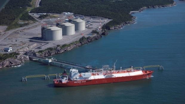 The New Brunswick government hired a U.S. company to conduct a property assessment of Canaport LNG in Saint John that reduced the taxes by 67 per cent.