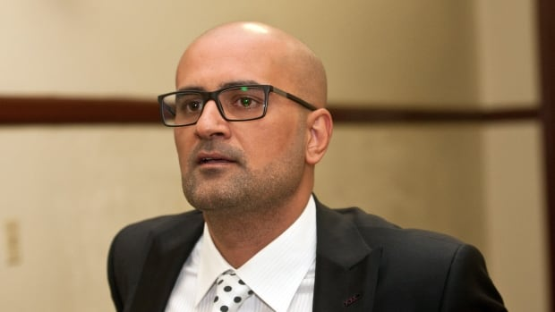 Bassam Al-Rawi, who was acquitted last week of sexual assault, is pictured during his trial in February. His lawyer, Luke Craggs, said his client is being treated as though he is guilty despite being acquitted.