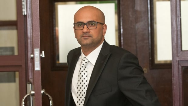 Bassam Al-Rawi appears in Halifax provincial court during his sexual assault trial in February 2017.