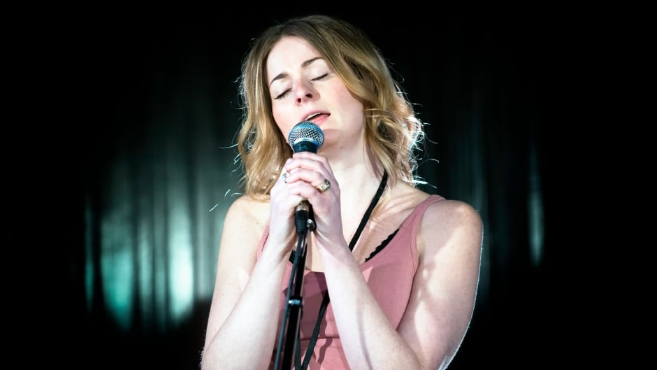 Jenn Grant performing from her new album 'Paradise' in q's studio.