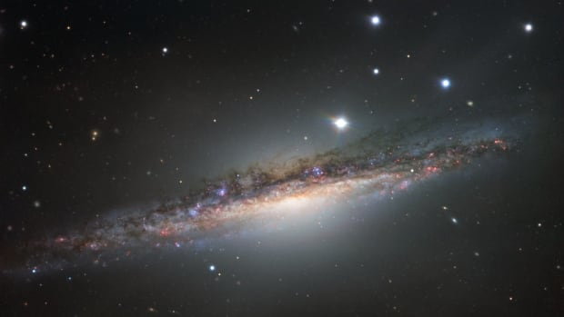 Giant telescope in Chile captures image of galaxy NGC 1055