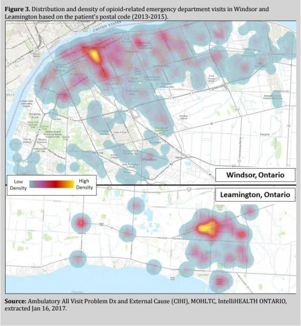 Opioid use in Windsor-Essex