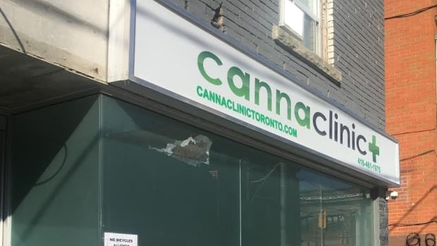 The Canna Clinic at 350 Broadview Ave. was robbed at gunpoint in early March. It was robbed again between mid-March and mid-April.