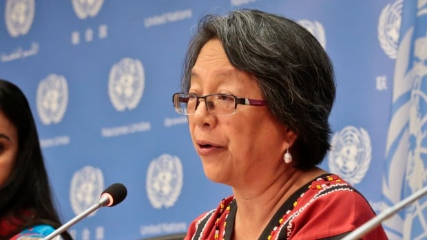 Victoria Tauli-Corpuz, U.N. Special Rapporteur on the Rights of Indigenous Peoples, visited North Dakota in the wake of months of protests over the Dakota Access pipeline. She says the concerns and rights of Native Americans haven't been adequately addressed.