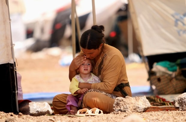 SYRIA-SECURITY/YAZIDIS